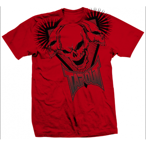 Футболка Tapout Better Than One T-Shirt Red