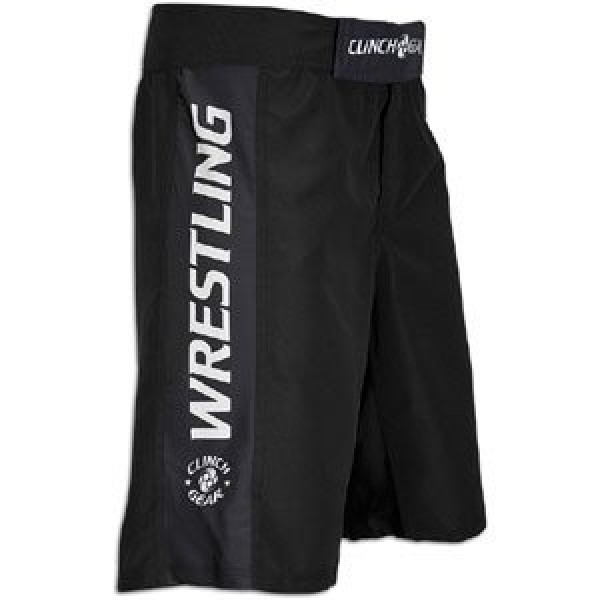 Шорты Clinch Gear Performance Wrestling Short- Black Clinch Gear