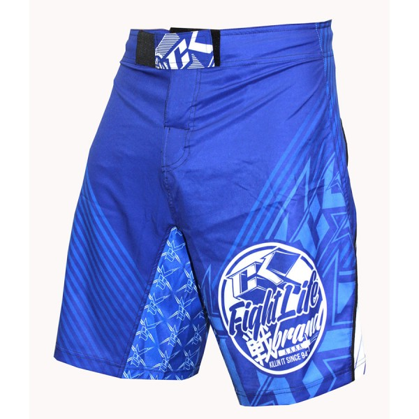 Шорты ММА Contract Killer YRS Blue Shorts Contract Killer