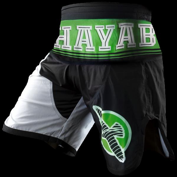 Шорты ММА Hayabusa Flex Factor Training Shorts Green/Black HayabusaШорты ММА<br>Новые шорты &amp;nbsp;Hayabusa&amp;nbsp;Flex&amp;nbsp;Factor&amp;nbsp;Training&amp;nbsp;Shorts&amp;nbsp;– разработаны для увеличения производительности и для предотвращения появлению ссадин и царапин на коже. &amp;nbsp;Когда дело доходит до производительности по отношению к одежде - иногда чем меньше, тем лучше. В новых шортах&amp;nbsp;Hayabusa&amp;nbsp;&amp;nbsp;отсутствуют застежки, липучки, металлические петли и заклепки. &amp;nbsp;Инновационная стрейч-ткань обеспечивает повышенную маневренность и комфорт. &amp;nbsp;Особенности:Минимум липучек и заклепокУвеличенный боковой разрезРазработаны из особой прочной стрейч тканиУльтра-легкие - для улучшения маневренности и комфортаВнутренняя регулировка размера для оптимальной посадки.<br><br>Размер INT: M