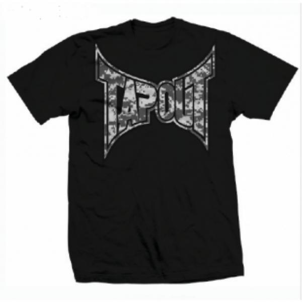 Tapout Digital Camo Mens T-Shirt Black TapoutФутболки<br>Новинка от Tapout. 100% хлопок<br><br>Размер INT: S