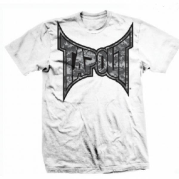 Tapout Digital Camo Men's T-Shirt White