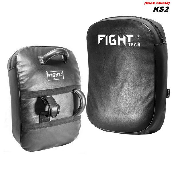 Макивара изогнутая Fighttech KS2 Leather, 68х45х15 см FightTech
