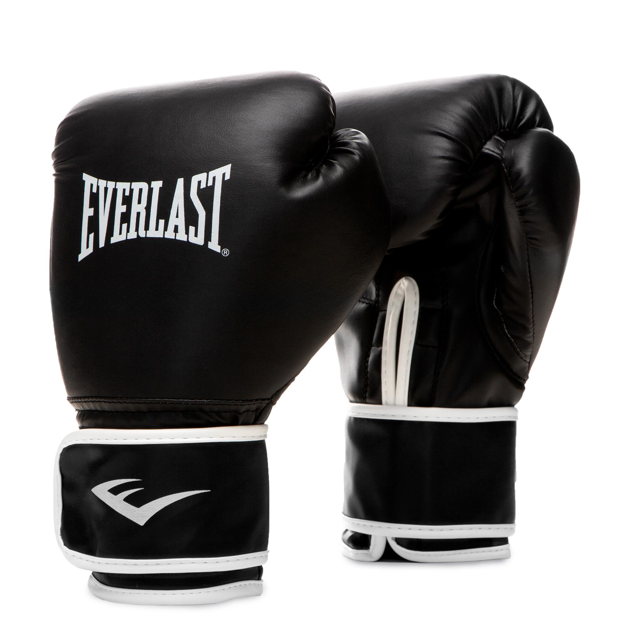 Боксерские перчатки Everlast Core Black Everlast