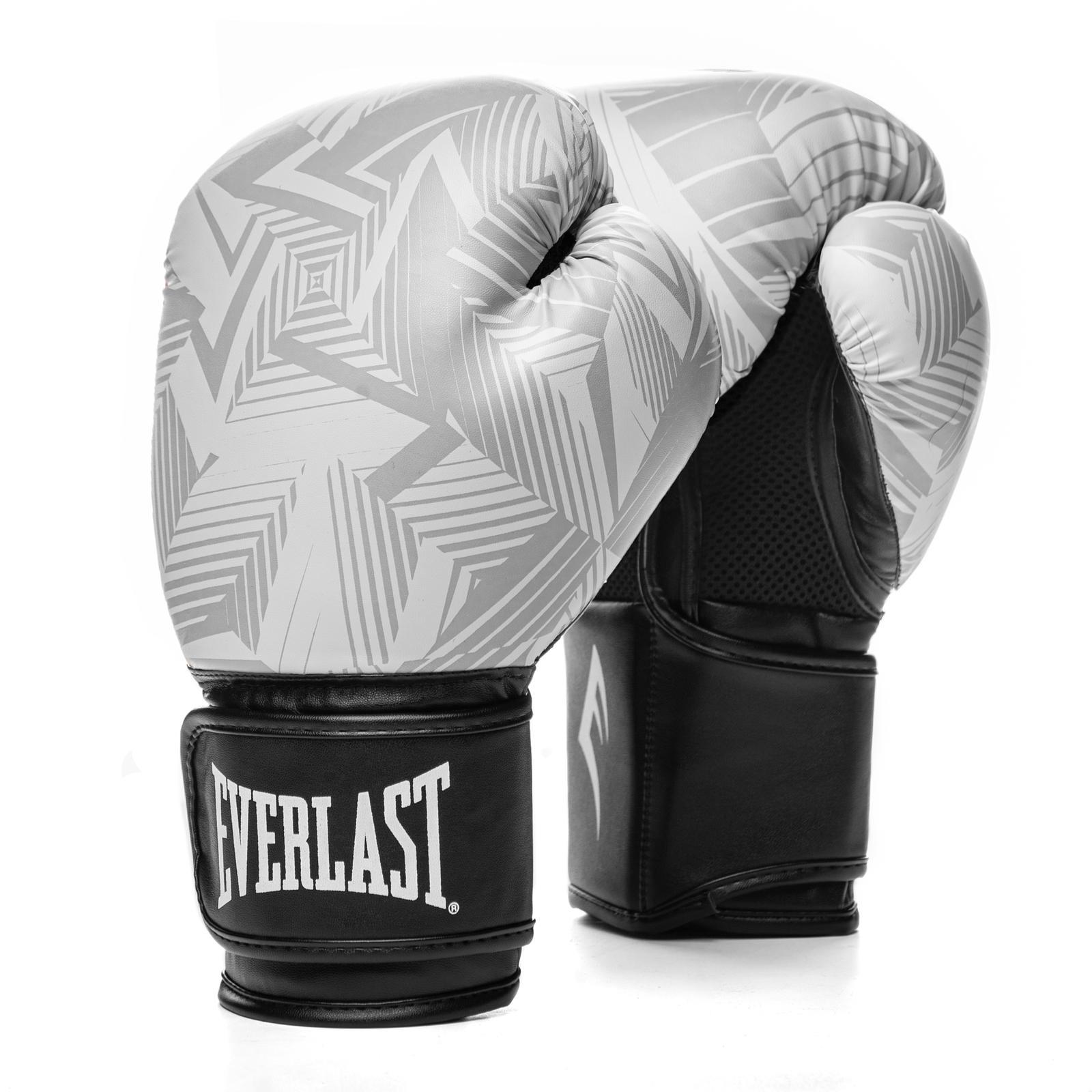 Боксерские перчатки Everlast Spark White Geo, 10 OZ Everlast