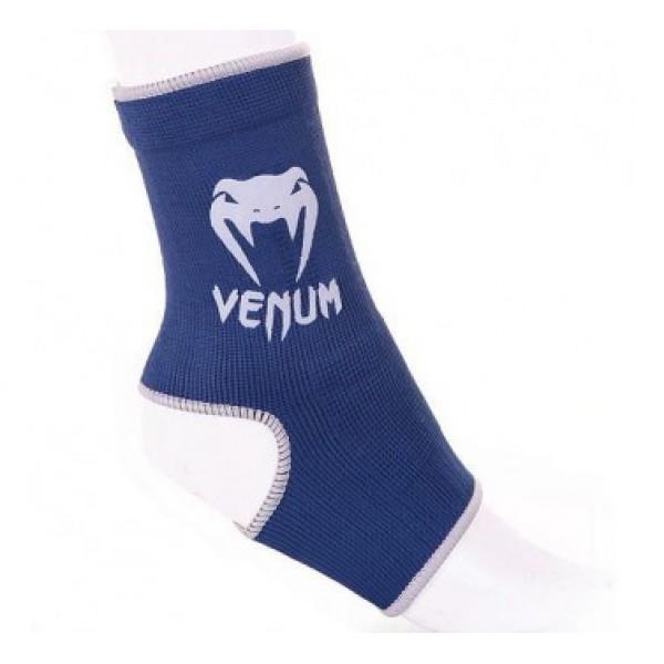 Суппорты Venum Ankle Support Guard Muay Thai/Kick Boxing Blue VenumЗащита тела<br>Отличная защита голеностопного сустава. Предотвращают скольжение. Один раз попробовав, вы не согласитесь на что-либо другое!Состав 100% хлопок.<br><br>Размер: Без размера