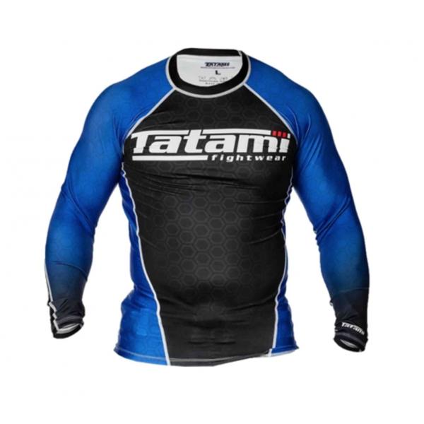 Рашгард Tatami L/S IBJJF - Blue TatamiРашгарды<br>Рашгарды, соответствующие рангам спортсменов. Сертифицированы федерацией IBJJF и подходят для всех мероприятий, проводимых данной организацией.<br><br>Размер INT: XS