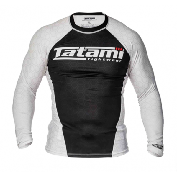 Рашгард Tatami L/S IBJJF - White TatamiРашгарды<br>Рашгарды, соответствующие рангам спортсменов. Сертифицированы федерацией IBJJF и подходят для всех мероприятий, проводимых данной организацией.<br><br>Размер INT: XS