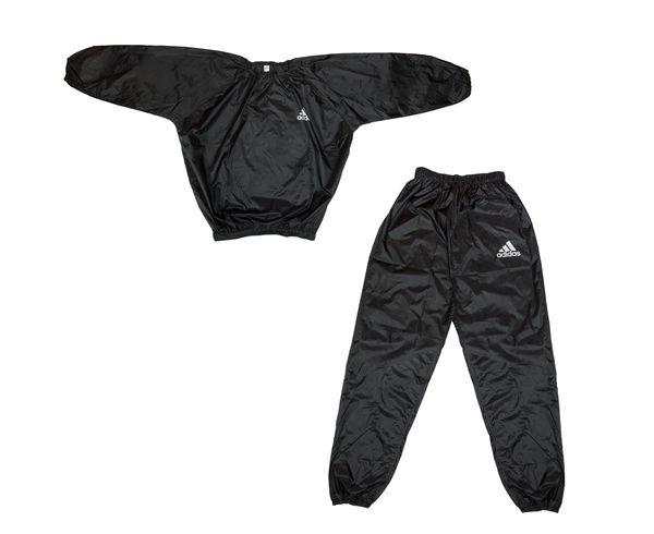 Костюм для сгонки веса Sauna Suit черный, черный Adidas (adiSS01)