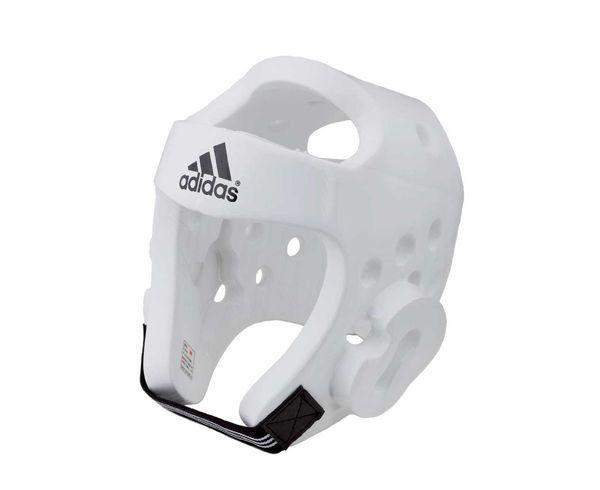 Шлем для тхэквондо Head Guard Dip Foam WTF , белый Adidas (adiTHG01)
