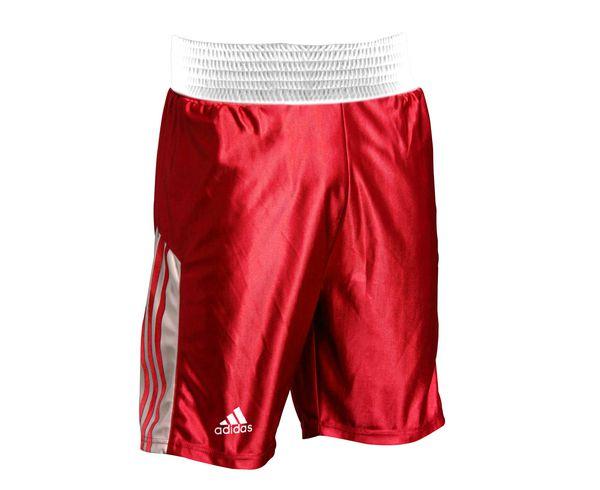 Шорты боксерские Amateur Boxing Shorts красные, красные Adidas (adiTB152)