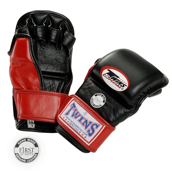 Перчатки ММА на липучке, Размер M Twins SpecialПерчатки MMA<br>Подходят для занятий спортом и спарингов в стиле MMA<br> Ручная работа<br> Натуральная кожа наивысшего качества<br> Наполнитель из плотной пены,<br> Открытая ладонь<br><br>Цвет: Красный