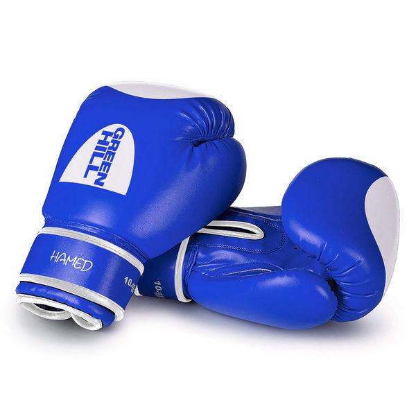 Боксерские перчатки hamed, 8 OZ Green Hill (BGH-2036)