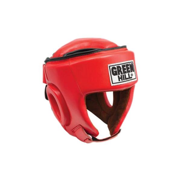 Шлем боксерский best соревновательный, Красный Green Hill