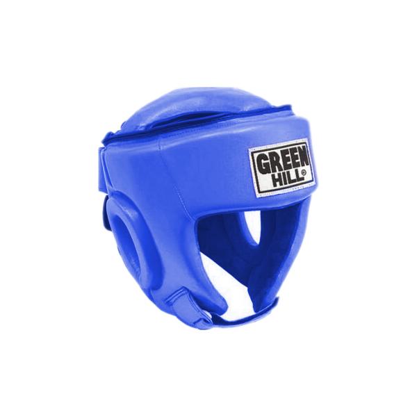 Шлем боксерский best соревновательный, Синий Green Hill