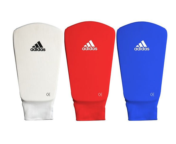 Защита голени и стопы Shin and Step Pa, красная Adidas
