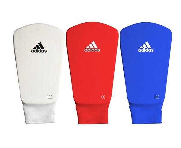 Защита голени и стопы Shin and Step Pa, синяя Adidas