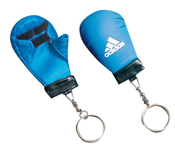 Брелок для ключей Key Chain Mini Karate Glove, синий AdidasСувенирная продукция<br>Брелок для ключей Key Chain Mini Karate Glove<br>