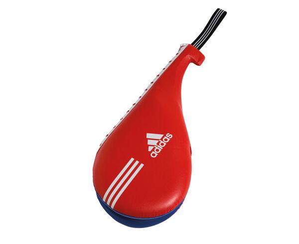Ракетка для тхэквондо двойная Maya Double Target Mitt, красно-синяя Adidas (adiTDT03)