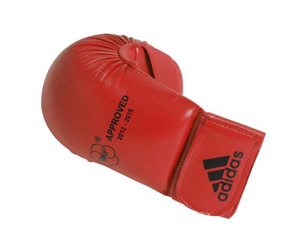 Накладки для карате WKF Bigger красные, красные Adidas (661.22)