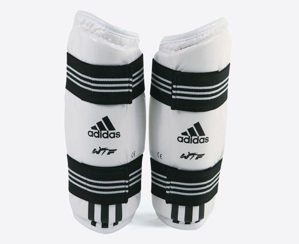Защита предплечья для тхэквондо WTF Forearm Protector, белая Adidas (adiTFP01)