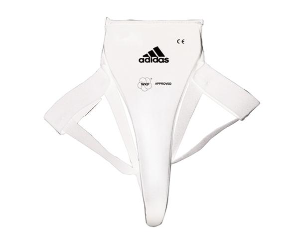 Защита паха женская WKF Lady Groin Guard, белая Adidas