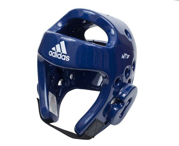 Шлем для тхэквондо Head Guard Dip Foam WTF, синий Adidas (adiTHG01)