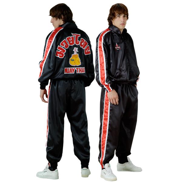 Спортивный костюм Twins Special Twins SpecialСпортивные костюмы<br>Фирменный спортивный костюм от Twins Special. <br> Подходит как для занятий спортом, так и для повседневной носки<br> Не сковывает движения<br> Фирменный классический стиль<br> Легкий в уходе<br> Материал - сатин<br><br>Размер INT: Размер XL