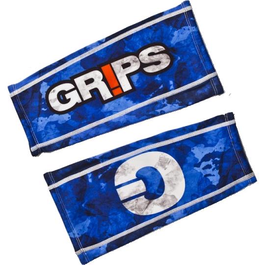 Компрессионная защита голени Grips Blue Camo Grips Athletics