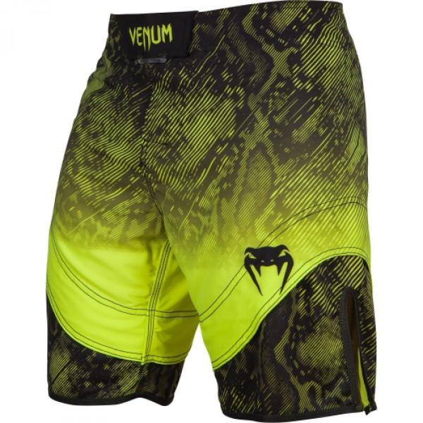 Шорты ММА Venum Fusion Fightshorts - Black Yellow VenumШорты ММА<br>Смелое очетание цвета, качества и стила характеризуют шорты ММА Venum Fusion Fightshorts -Black Yellow. Сделаны из ультра-легкой ткани для небывалой легкости движений. Материал из микрофибры впитывает влагу, оставляя кожу сухой даже после интенсивной тренировки. Инновационные системыVault™ иSpeed Grip™ обеспечат комфортную подгонку по размеру и надежную фиксацию на теле. В шортах Venum Fusion Вы точно почувствуете себя настоящим атлетом. Особенности:- Ультра-легкая ткань из микрофибры- Сетчатые панели для вентиляции и вывода пота- ТехнологииVault™ иSpeed Grip™- Система Flex - ткань тянется в четырех направлениях- Усиленные швы- Быстро сохнут<br><br>Размер INT: L