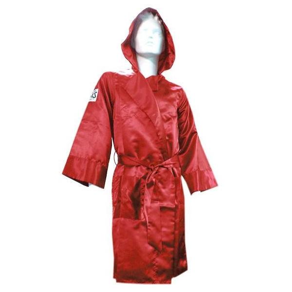 Боксерский халат, Размер ХL Cleto ReyesБоксерские халаты<br>Широкие рукава<br> В наборе пояс<br> Логотипы CLETO REYES на груди и рукавах<br> Широкий капюшон<br> Стильный и брутальный дизайн<br> Материал - сатин<br><br>Цвет: Красный