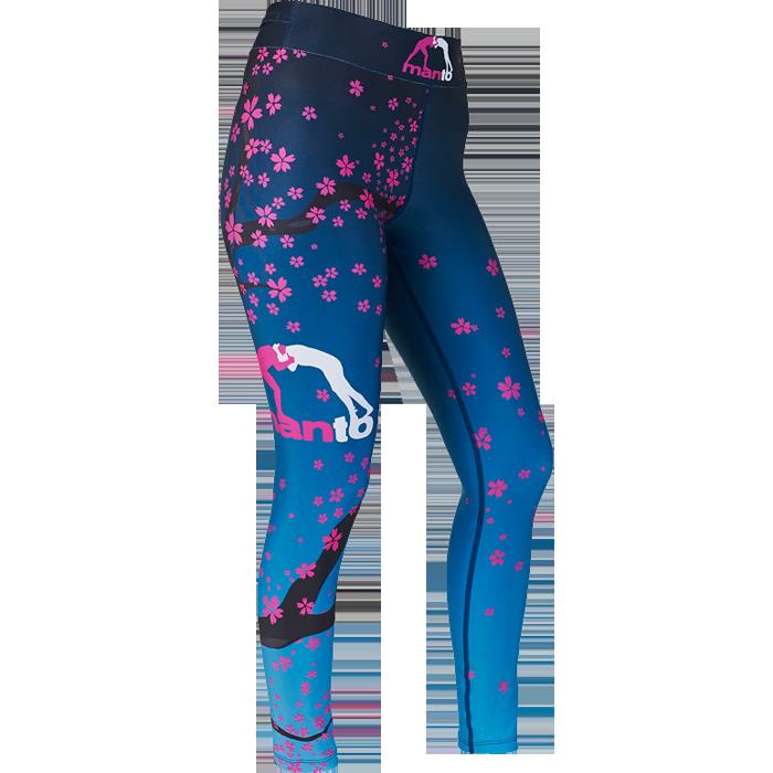 Женские компрессионные штаны Manto Sakura