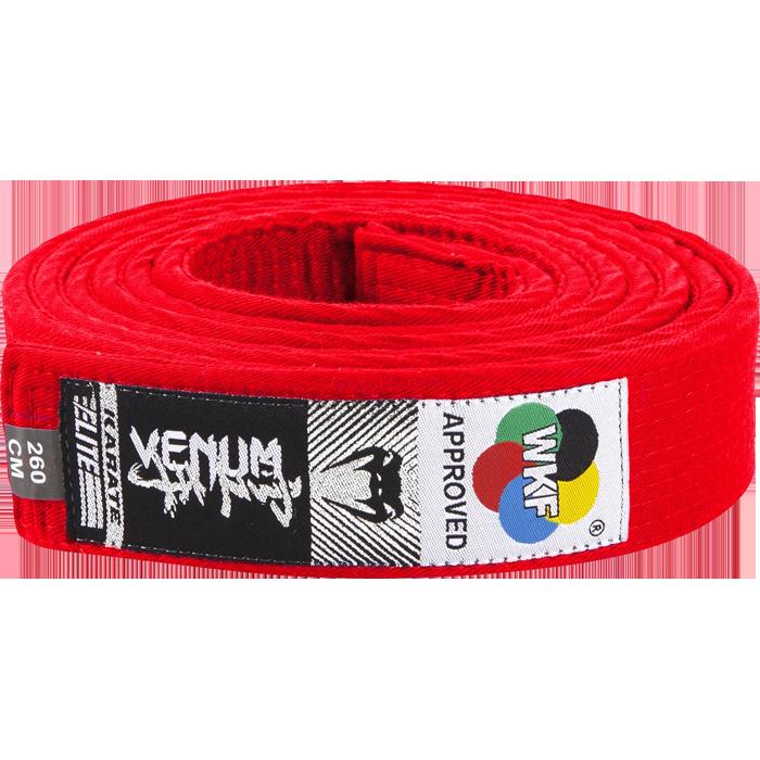 Пояс для кимоно Venum Red Venum фото