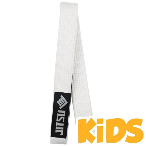 Детский пояс Jitsu JitsuЭкипировка для Джиу-джитсу<br>Детский пояс для кимоно Jitsu White. На поясе присутствует сегмент для ранговых нашивок. Ширина пояса для бжж break point примерно 4. 5см, толщина примерно 0. 5см. Длина пояса (примерно): M1 = 210см, M2 = 220см, M3 = 230см, M4 = 240см. Состав: 100% хлопок.<br><br>Размер: M0