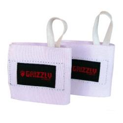 Бинты для фиксаций запястий, Белые GrizzlyБинты и лямки<br>Описание: в комплекте 2 шт.<br>