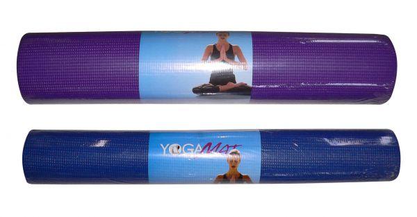 Коврик для йоги YG 03, 173x61x0,3 см Sport PioneerКоврики для йоги<br>Удобный и мягкий коврик для йоги и фитнеса.<br>