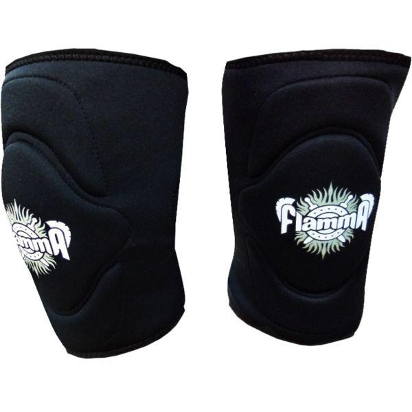 Наколенники Flamma FlammaЗащита тела<br>Наколенники Flamma. Махровая ткань внутри для максимального комфорта и впитывания пота . Продаются парой. Отличный вариант для подростков и девушек. Ширина наколенника в средней части - 16,5см.<br>