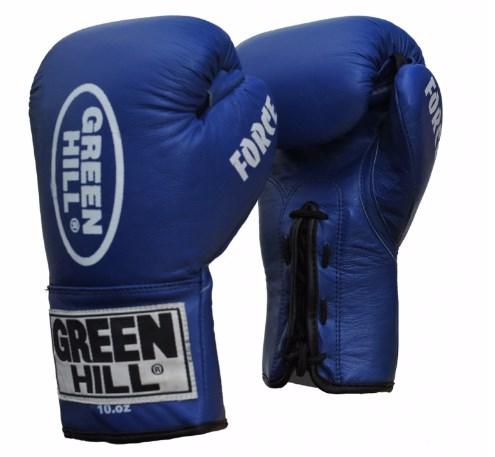 Перчатки боксерские Green Hill force, 16oz Green Hill (BGF-1215)