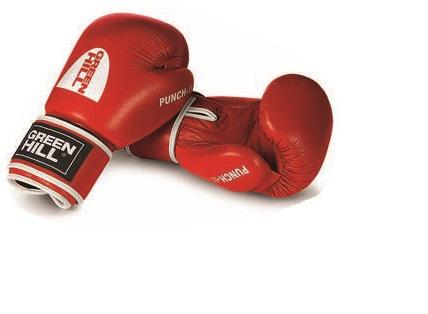 Боксерские перчатки Green Hill punch ii, 14oz