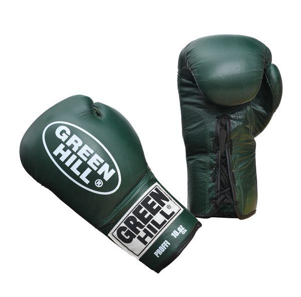 Боксерские перчатки Green Hill proffi, 10 oz Green Hill (BGP-2014)