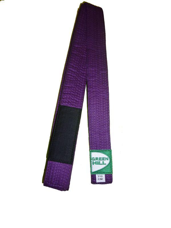 Пояс для джиу-джитсу, Фиолетовый Green Hill