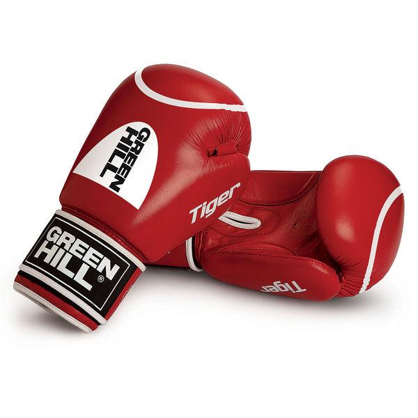Перчатки боксерские tiger с таргетом (новый логотип), 10 oz Green Hill (BGT-2010b-00)