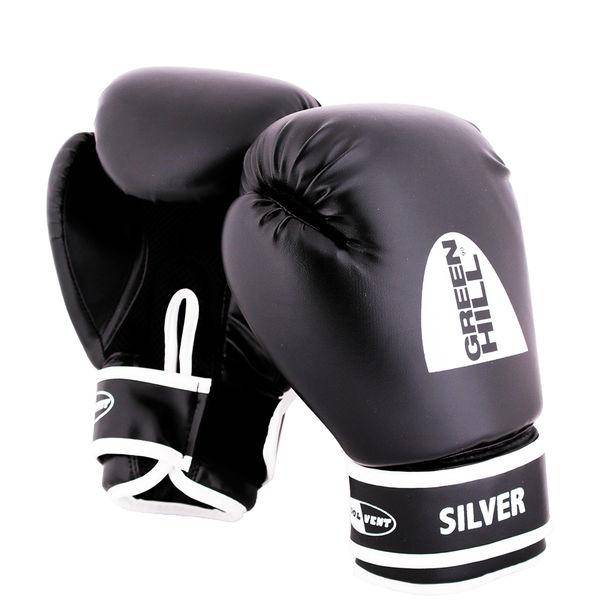 Перчатки боксерские silver, 8 oz Green Hill