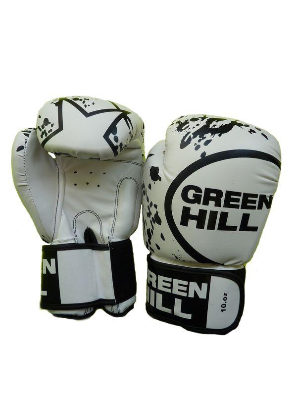 Боксерские перчатки STAR , 12 oz Green Hill (BGS-2219)