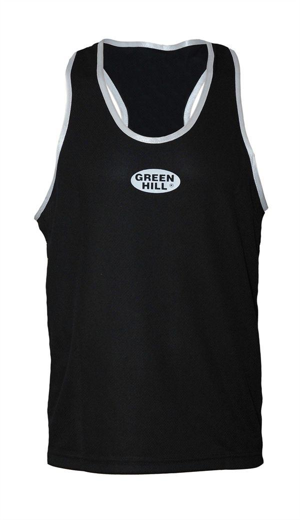 Майка боксерская , Черный Green HillБоксерские майки<br>Майка боксерская. Материал: 100% полиэстер.<br><br>Размер INT: L