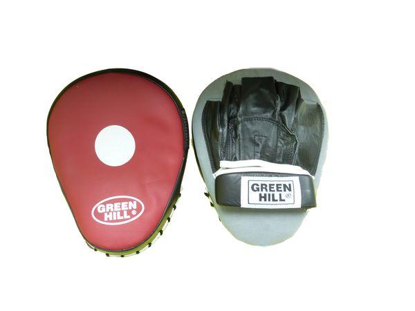 Лапы боксерские TWIST Green Hill (FMT-5027)