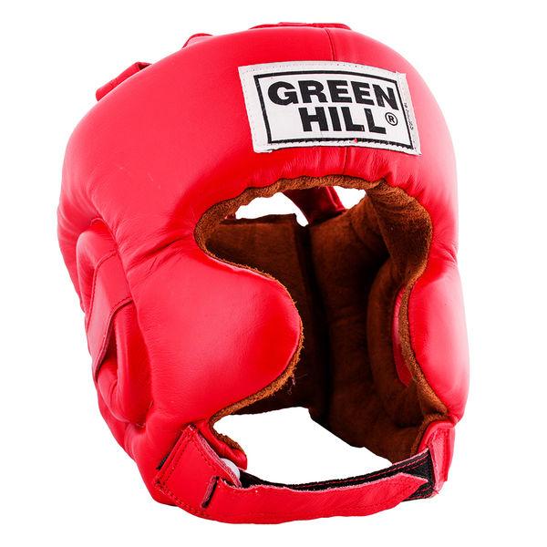 Шлем боксерский defence, Красный Green Hill
