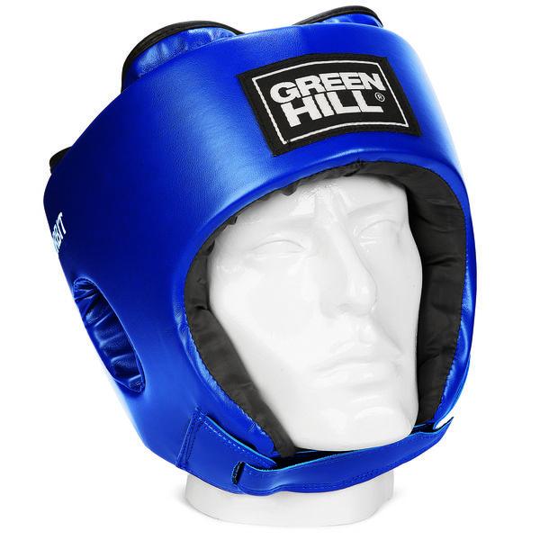 Детский боксерский шлем orbit, Синий Green Hill