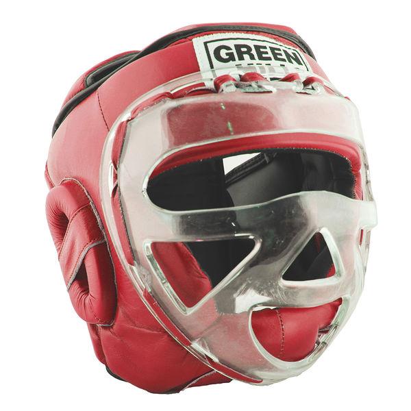 Шлем для бокса safe, Красный Green Hill