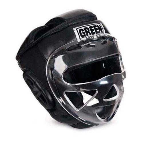Шлем для бокса safe, Черный Green Hill